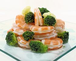 Brócoli con Gambas